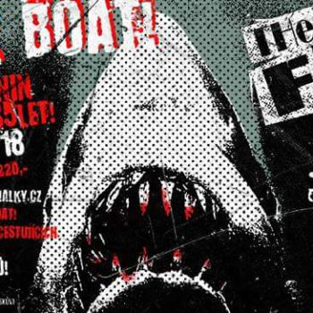 Punk rock boat! Všem v kapele už je 35let;)