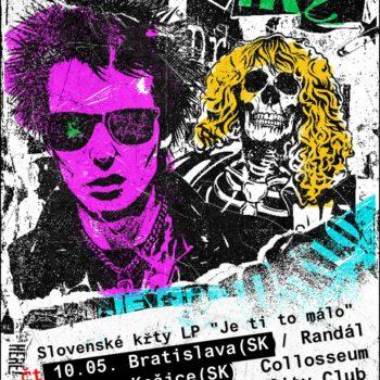 """Slovenské křty LP """"Je ti to málo"""""""