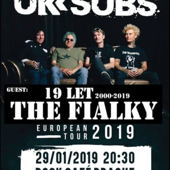 19 let oslavíme koncertem s U.K. Subs!