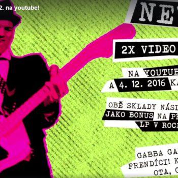 Novinka: 2x VIDEO-SINGL! + 9 akcí na listopad!