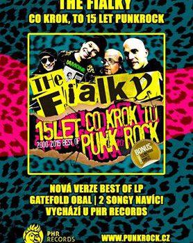 "Novinka: Reedice vinylu ""Co krok, to 15 let punkrock!"""