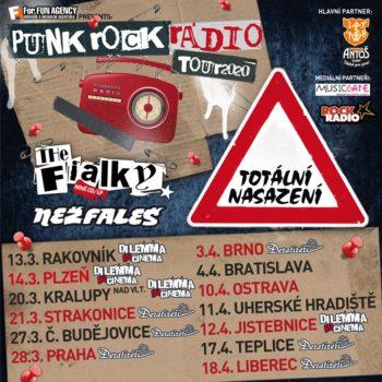 Punk rock rádio tour – se přesouvá na jaro 2021